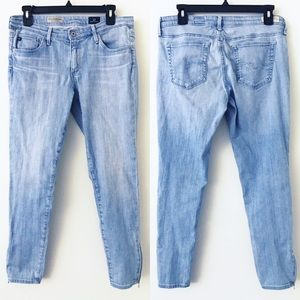 AG The Zip Up Legging Ankle Jeans